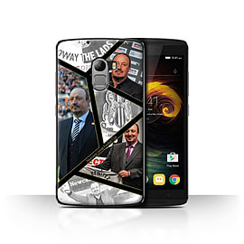 Official Newcastle United FC Case/Cover for Lenovo Vibe K4 Note/Montage Design/NUFC Rafa Ben?tez Mobile phones