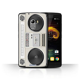 STUFF4 Case/Cover for Lenovo Vibe K4 Note / Boombox Design / Retro Tech Collection Mobile phones