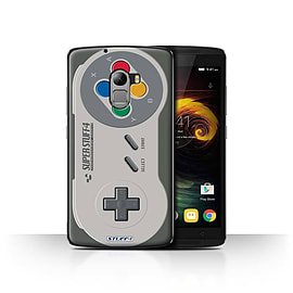 STUFF4 Case/Cover for Lenovo Vibe K4 Note / Super Nintendo Design / Games Console Collection Mobile phones