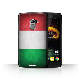 STUFF4 Case/Cover for Lenovo Vibe K4 Note / Italy/Italian Design / Flags Collection Mobile phones