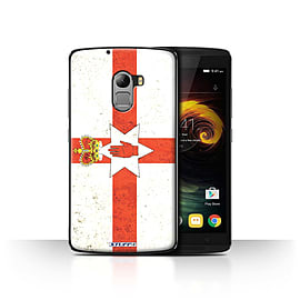 STUFF4 Case/Cover for Lenovo Vibe K4 Note / Northern Ireland Design / Flags Collection Mobile phones