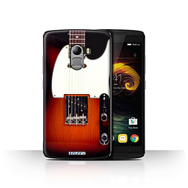 STUFF4 Case/Cover for Lenovo Vibe K4 Note / Sunburst Electric Design / Guitar Collection Mobile phones