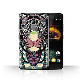 STUFF4 Case/Cover for Lenovo Vibe K4 Note / Tiger-Colour Design / Aztec Animal Design Collection Mobile phones
