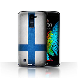STUFF4 Case/Cover for LG K8/K350N/Phoenix 2 / Finland/Finnish Design / Flags Collection Mobile phones
