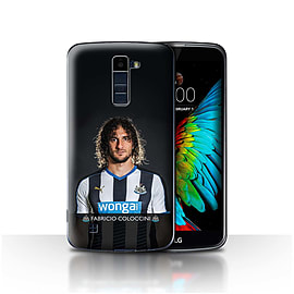 Newcastle United FC Case/Cover for LG K8/K350N/Phoenix 2/Coloccini Design/NUFC Football Player 15/16 Mobile phones