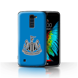 Official Newcastle United FC Case/Cover for LG K7 /X210/Mono/Blue Design/NUFC Football Crest Mobile phones