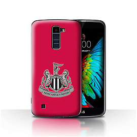 Official Newcastle United FC Case/Cover for LG K7 /X210/Mono/Red Design/NUFC Football Crest Mobile phones