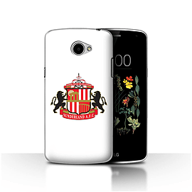 Official Sunderland AFC Case/Cover for LG K5/X220/Q6/White Design/SAFC Football Club Crest Mobile phones