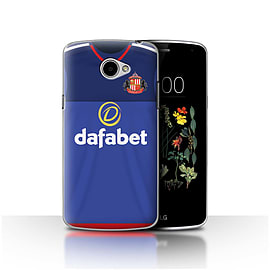 Official Sunderland AFC Case/Cover for LG K5/X220/Q6/Goalkeeper Design/SAFC Home Shirt/Kit 15/16 Mobile phones