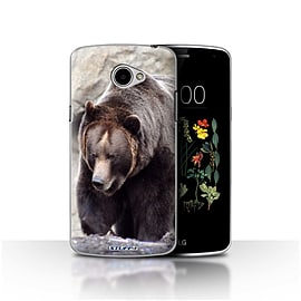 STUFF4 Case/Cover for LG K5/X220/Q6 / Bear Design / Wildlife Animals Collection Mobile phones