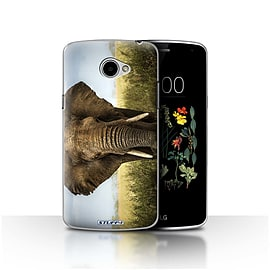 STUFF4 Case/Cover for LG K5/X220/Q6 / Elephant Design / Wildlife Animals Collection Mobile phones