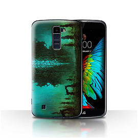 Official Chris Cold Case/Cover for LG K7 /X210/Alien Landscape Design/Alien World Cosmos Mobile phones