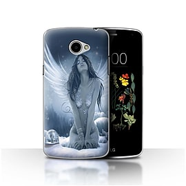 Official Elena Dudina Case/Cover for LG K5/X220/Q6 / La Nieve Design / Fantasy Angel Collection Mobile phones