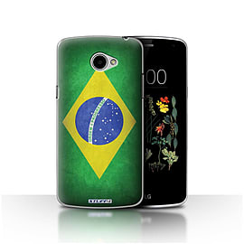 STUFF4 Case/Cover for LG K5/X220/Q6 / Brazil/Brazilian Design / Flags Collection Mobile phones