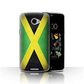 STUFF4 Case/Cover for LG K5/X220/Q6 / Jamaica/Jamaican Design / Flags Collection Mobile phones