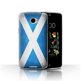 STUFF4 Case/Cover for LG K5/X220/Q6 / Scotland/Scottish Design / Flags Collection Mobile phones