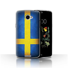STUFF4 Case/Cover for LG K5/X220/Q6 / Sweden/Swedish Design / Flags Collection Mobile phones
