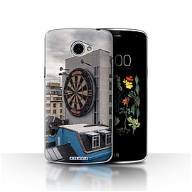 STUFF4 Case/Cover for LG K5/X220/Q6 / Bullseye Design / Imagine It Collection Mobile phones