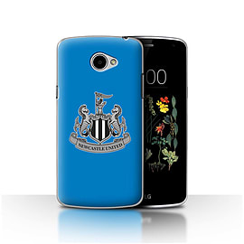 Official Newcastle United FC Case/Cover for LG K5/X220/Q6/Mono/Blue Design/NUFC Football Crest Mobile phones