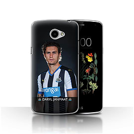 Official Newcastle United FC Case/Cover for LG K5/X220/Q6/Janmaat Design/NUFC Football Player 15/16 Mobile phones