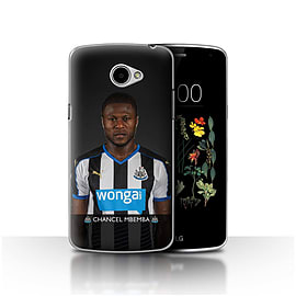 Official Newcastle United FC Case/Cover for LG K5/X220/Q6/Mbemba Design/NUFC Football Player 15/16 Mobile phones