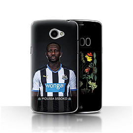 Official Newcastle United FC Case/Cover for LG K5/X220/Q6/Sissoko Design/NUFC Football Player 15/16 Mobile phones