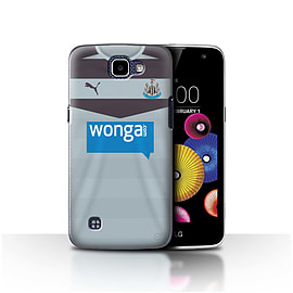 Newcastle United FC Case/Cover for LG K4/K120/K121/K130/Goalkeeper Design/NUFC Away Shirt/Kit 15/16 Mobile phones
