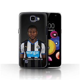 Newcastle United FC Case/Cover for LG K4/K120/K121/K130/Mbemba Design/NUFC Football Player 15/16 Mobile phones
