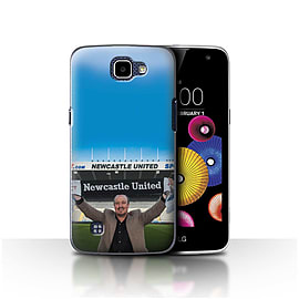 Official Newcastle United FC Case/Cover for LG K4/K120/K121/K130/Welcome Design/NUFC Rafa Ben?tez Mobile phones
