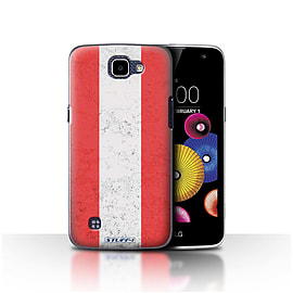 STUFF4 Case/Cover for LG K4/K120/K121/K130 / Austria/Austrian Design / Flags Collection Mobile phones