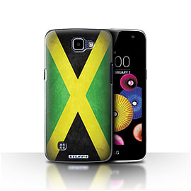 STUFF4 Case/Cover for LG K4/K120/K121/K130 / Jamaica/Jamaican Design / Flags Collection Mobile phones