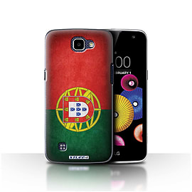 STUFF4 Case/Cover for LG K4/K120/K121/K130 / Portugal/Portuguese Design / Flags Collection Mobile phones