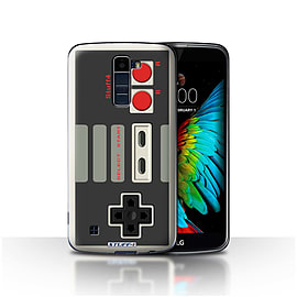 STUFF4 Case/Cover for LG K10 /K420/K430 / Nintendo Classic Design / Games Console Collection Mobile phones