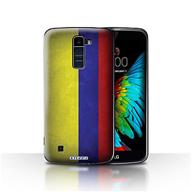 STUFF4 Case/Cover for LG K10 /K420/K430 / Columbia/Columbian Design / Flags Collection Mobile phones