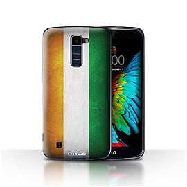 STUFF4 Case/Cover for LG K10 /K420/K430 / Ivory Coast Design / Flags Collection Mobile phones