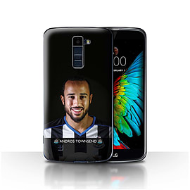 Newcastle United FC Case/Cover for LG K10 /K420/K430/Townsend Design/NUFC Football Player 15/16 Mobile phones
