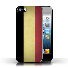 STUFF4 Case/Cover for Apple iPhone SE / Belgium Design / Flags Collection Mobile phones