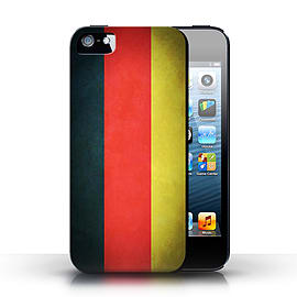 STUFF4 Case/Cover for Apple iPhone SE / Germany/German Design / Flags Collection Mobile phones