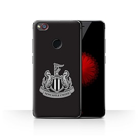 Official Newcastle United FC Case/Cover for ZTE Nubia Z11 Mini/Mono/Black Design/NUFC Football Crest Mobile phones