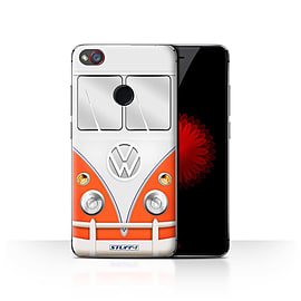STUFF4 Case/Cover for ZTE Nubia Z11 Mini / Red Design / VW Camper Van Collection Mobile phones