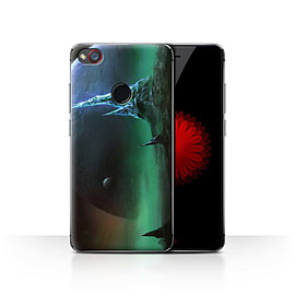 Official Chris Cold Case/Cover for ZTE Nubia Z11 Mini/Sapphire Peaks Design/Alien World Cosmos Mobile phones