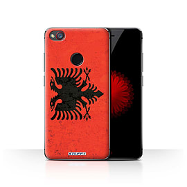 STUFF4 Case/Cover for ZTE Nubia Z11 Mini / Albania/Albanian Design / Flags Collection Mobile phones