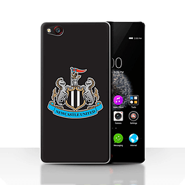 Official Newcastle United FC Case/Cover for ZTE Nubia Z9/Colour/Black Design/NUFC Football Crest Mobile phones