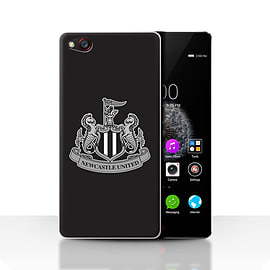 Official Newcastle United FC Case/Cover for ZTE Nubia Z9/Mono/Black Design/NUFC Football Crest Mobile phones