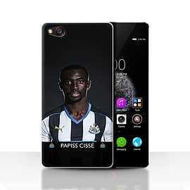 Official Newcastle United FC Case/Cover for ZTE Nubia Z9/Ciss? Design/NUFC Football Player 15/16 Mobile phones