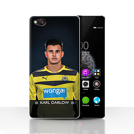 Official Newcastle United FC Case/Cover for ZTE Nubia Z9/Darlow Design/NUFC Football Player 15/16 Mobile phones