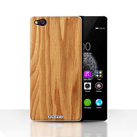 STUFF4 Case/Cover for ZTE Nubia Z9 / Oak Design / Wood Grain Effect/Pattern Collection Mobile phones