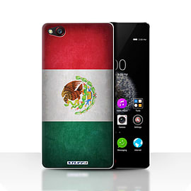 STUFF4 Case/Cover for ZTE Nubia Z9 / Mexico/Mexican Design / Flags Collection Mobile phones