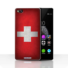 STUFF4 Case/Cover for ZTE Nubia Z9 / Switzerland/Swiss Design / Flags Collection Mobile phones