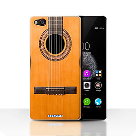 STUFF4 Case/Cover for ZTE Nubia Z9 / Wood/Wooden Acoustic Design / Guitar Collection Mobile phones